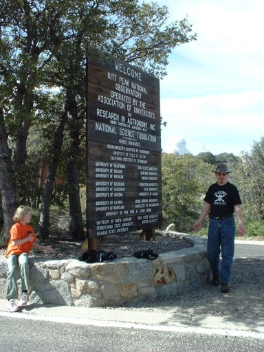Tim takes it to new heights at Kitt Peak
